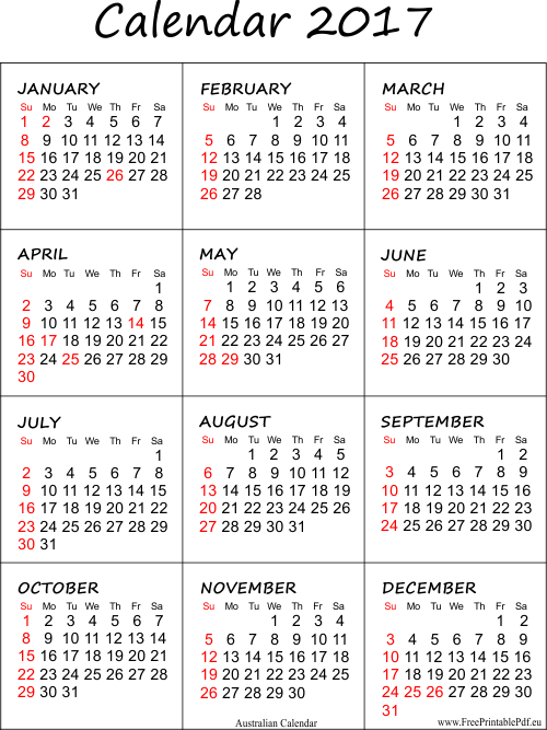 September 2017 Monthly Printable Calendar - …