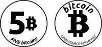 Coin of 5 Bitcoins