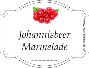 johannisbeer marmelade etiketten zum ausdrucken pdf. Black Bedroom Furniture Sets. Home Design Ideas