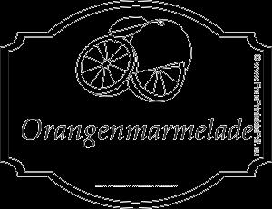 Orangenmarmelade etiketten zum ausdrucken | PDF Drucken ...