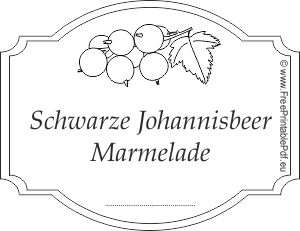 schwarze johannisbeer marmelade etiketten drucken pdf drucken kostenlos. Black Bedroom Furniture Sets. Home Design Ideas