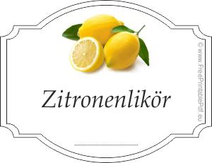 freie zitronenlikör etiketten pdf pdf drucken kostenlos