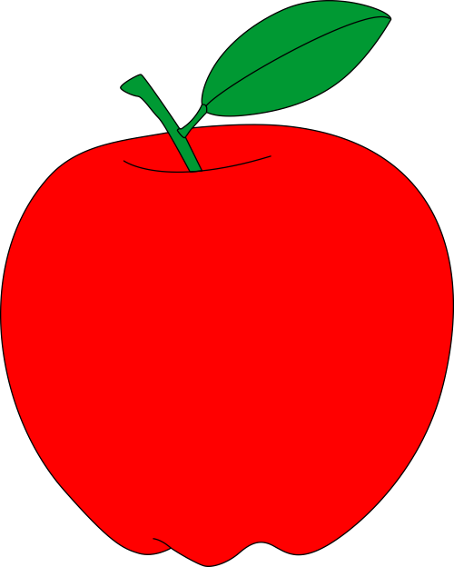This is an image of Printable Apples with regard to template