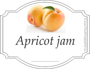Free Apricot Jam Labels Free Printable Pdf