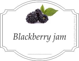 free blackberry jam labels for jars free printable pdf