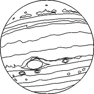 Jupiter Gezegeni Boyama Kitabi Ucretsiz Yazdirilabilir Pdf