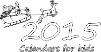 2015 calendar for kids to print