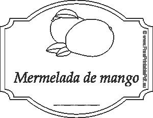 Etiquetas Para Mermelada De Mango Imprimir El Pdf Gratis