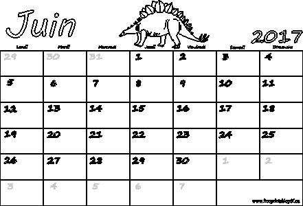 Calendrier 2017 pdf - Calendrier lunaire de juin 2017 ...