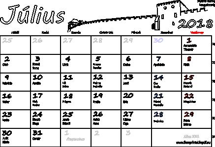 naptár program névnapokkal naptar 2018   Tikir.reitschule pegasus.co naptár program névnapokkal