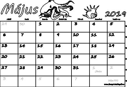 2019 nyomtatható naptár Naptár Május 2019 nyomtatható | Szabad fájlok PDF nyomtatás 2019 nyomtatható naptár