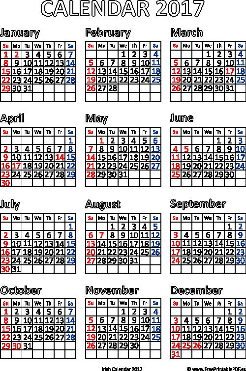 2017 Irish Powerlifting Domestic Calendar